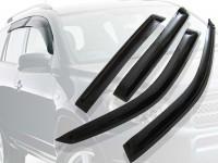 Ветровики окон Chevrolet Cruze, HB, 12-, 4ч., темный
