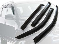 Ветровики окон Nissan Murano 09-, 4ч. темный