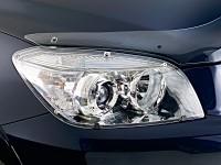 Защита фар Chevrolet Lanos, 98-09/ЗАЗ Сенс, прозрачные