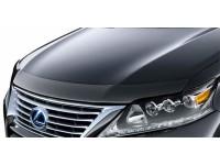 Дефлектор капота Nissan Almera 13-, темный